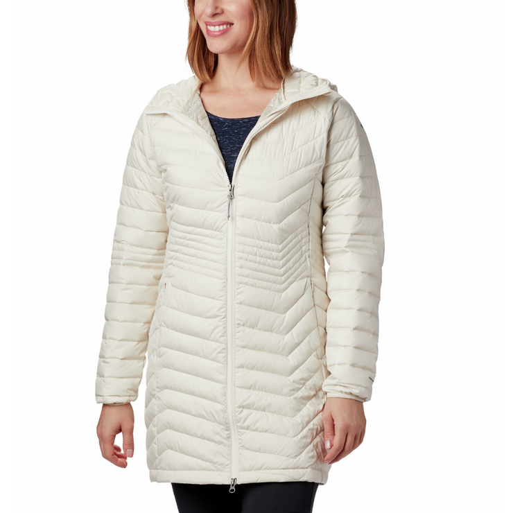 Women's Powder Lite Mid Jacket Chalk - booley