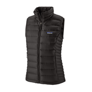 Women's Down Sweater Vest Black - booley Galway