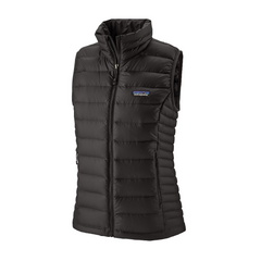 Women's Down Sweater Vest Black - Call of the Wild Galway