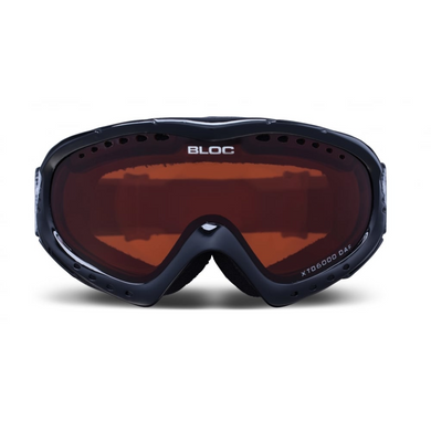 Utopia Shiny Black With Orange Lens