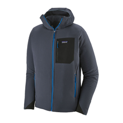 Men's R2 TechFace Hoody Smolder Blue - Call of the Wild Galway