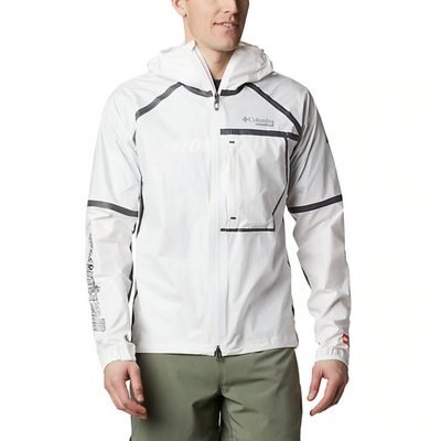 Columbia Men's Outdry Ex Lightweight Shell White - Call of the Wild