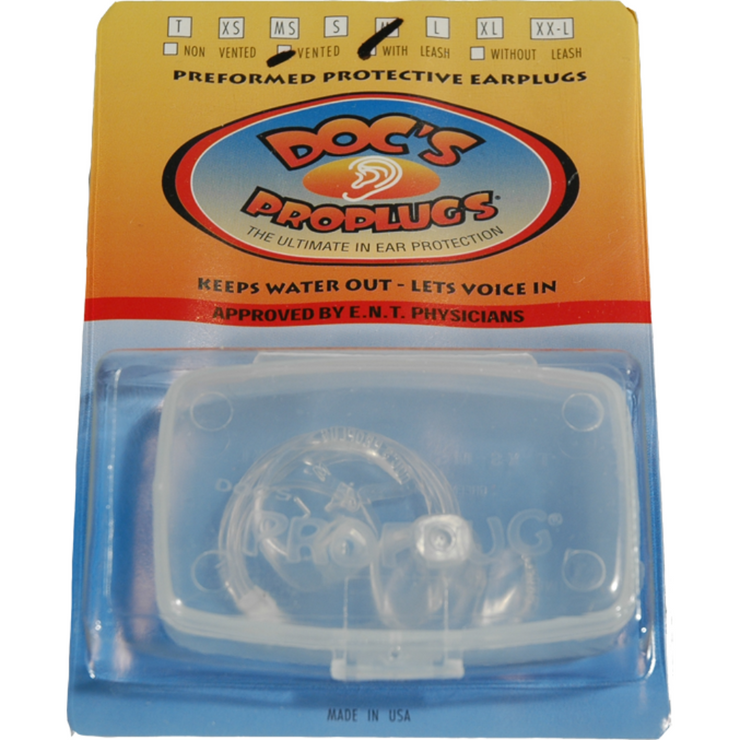Doc's ProPlugs With Leash - booley