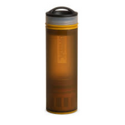 Grayl Ultralight Water Purifier Bottle / Coyote Amber - booley