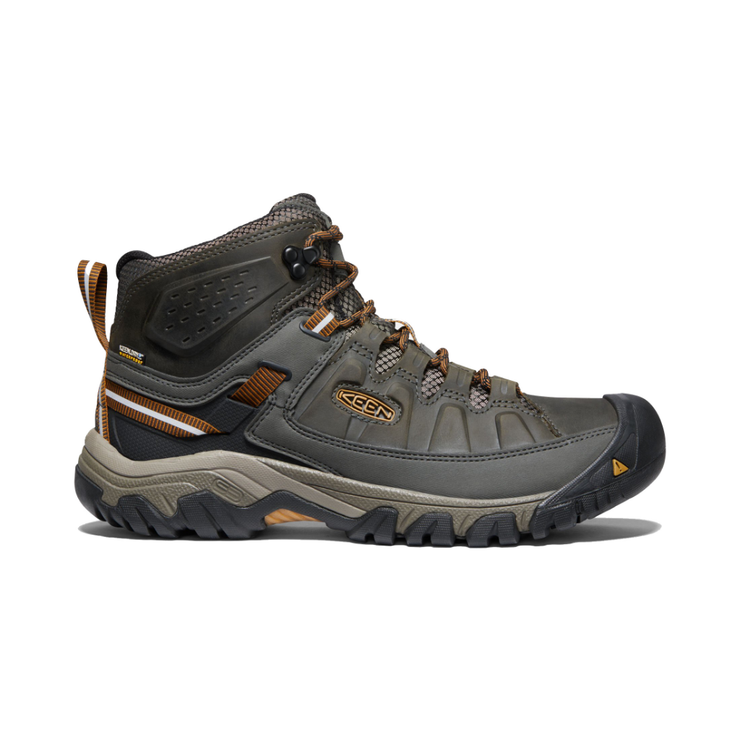 Men's Targhee III Mid WP Black Olive / Golden Brown - booley Galway