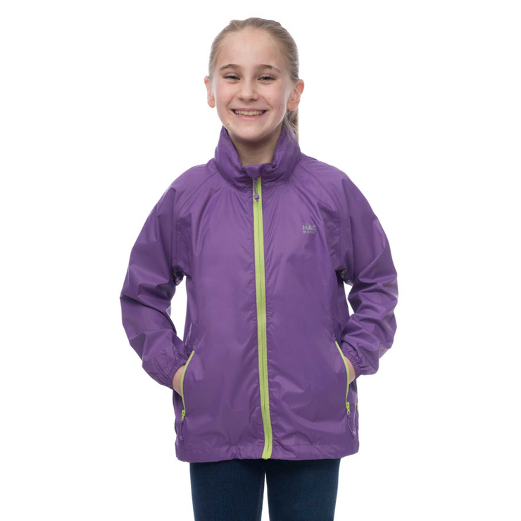 Kids Origin Jacket Ultra Violet