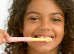 Go Fluoride-Free When Teaching Young Children about Brushing Teeth