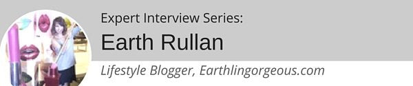 Expert Interview Series: Earth Rullan on Products that can Enhance Beauty