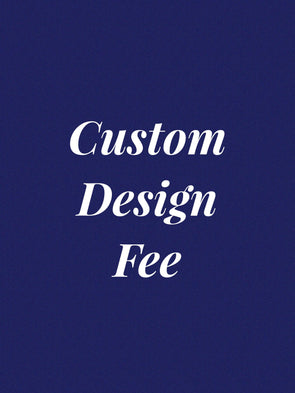 Custom design fee for custom wood sign.