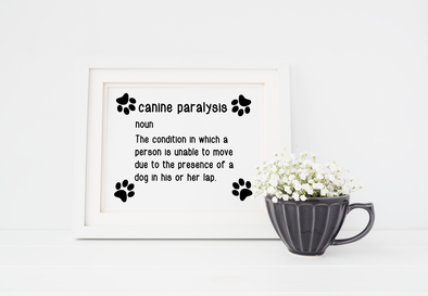 Funny dog art print digital download