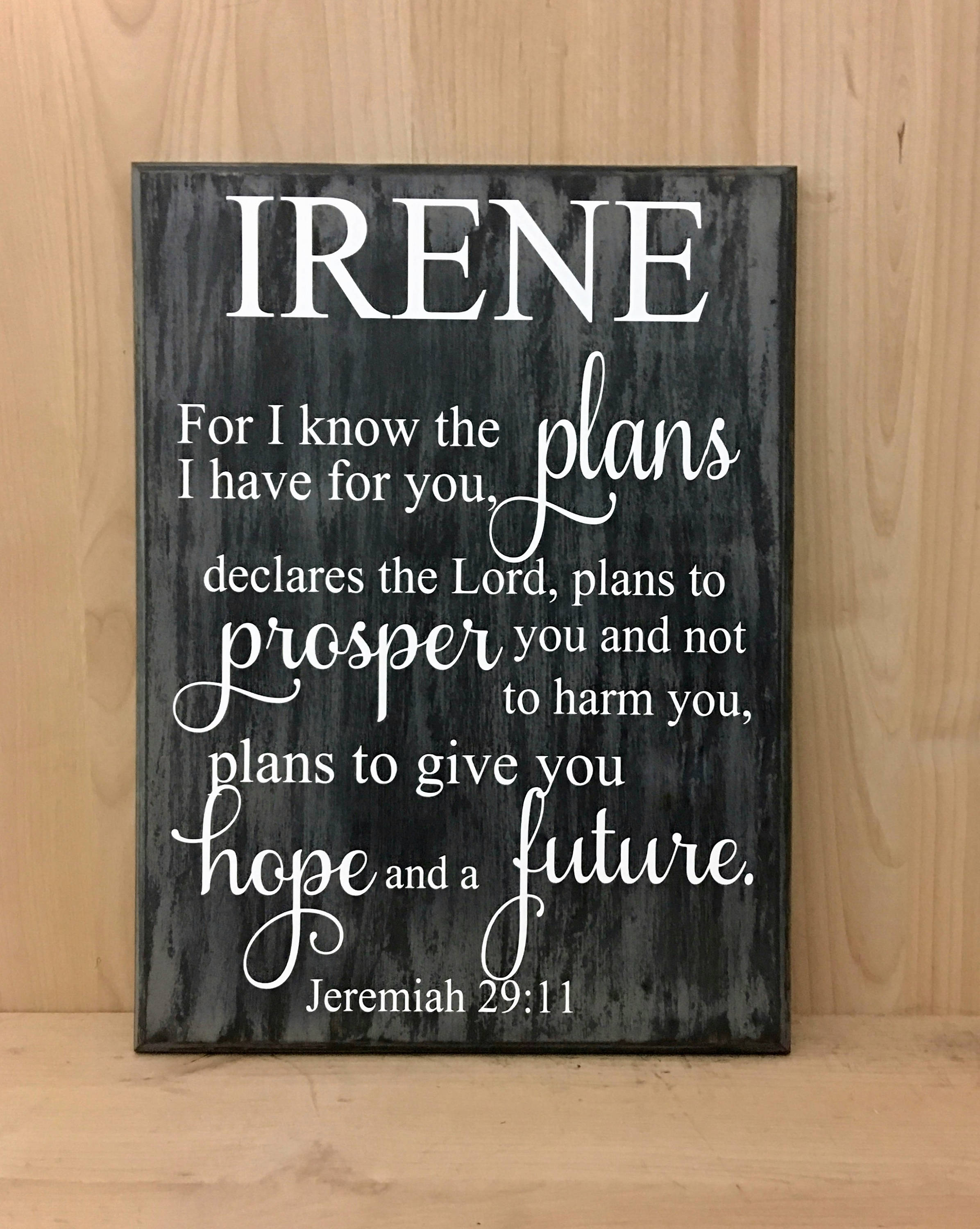Personalized Confirmation Gift Personalized Wood Sign Religious