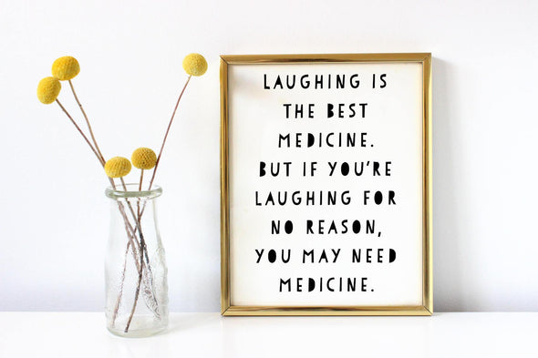 Laughing is the best medicine digital download.