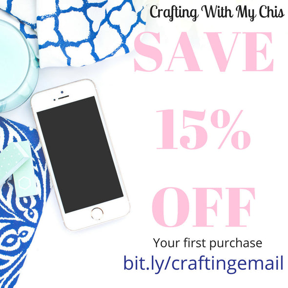 Save 15% by signing up bit.ly/craftingemail
