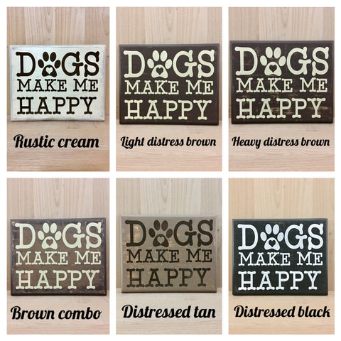 Dogs Come Into Our Lives Wood Sign Crafting With My Chis