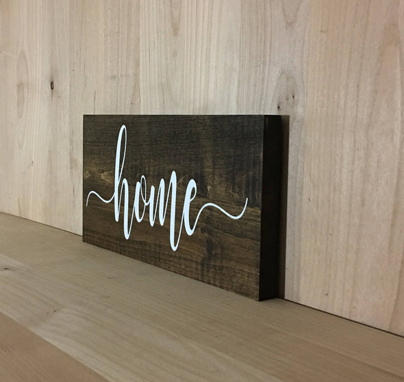Custom home wooden sihn for home decor.