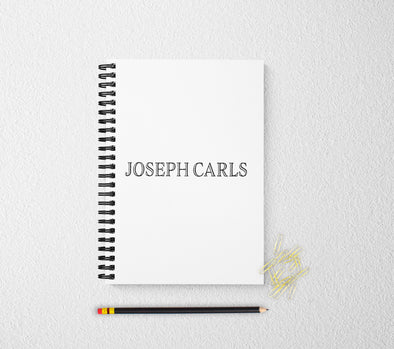 Mens personalized journal for men