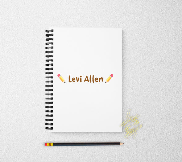 Personalized notebook for kids