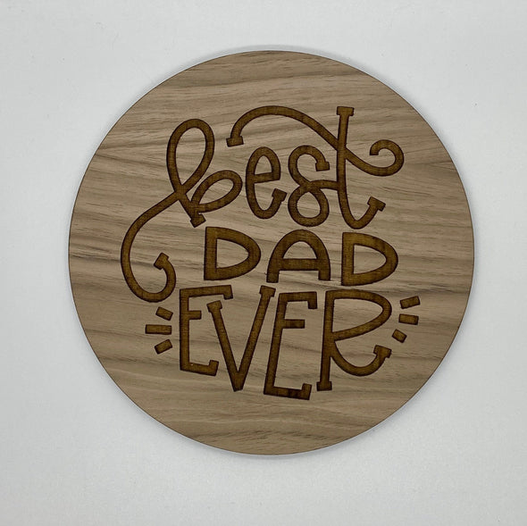 Best dad ever wood sign home decor, gift for fathers day, fathers day gift, gift for dad sign