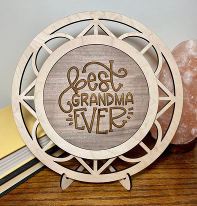 Best grandma ever wood sign home decor, gift for mothers day, mothers day gift, gift for nana