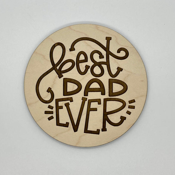 Best dad ever wood sign home decor, gift for fathers day, fathers day gift, gift for dad