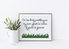 I'm too busy grass is greener art print.