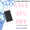 save 15% off your first purchase, go to bit.ly/15chis