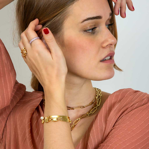 Shirel Cuff Gold