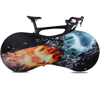 Housse protection vélo cycling cover bike fashion feu glace VTT vélo course route qualité shop Start2Train Start to Train S2T
