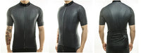 maillot cyclisme vélo photos dos face profil anthracite noir boutique eshop start-to-train