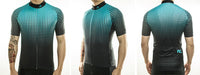 maillot cyclisme vélo photo dos face profil bleu turquoise noir boutique eshop start-to-train
