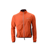 veste coupe-vent réfléchissante vélo orange face boutique eshop start-to-train