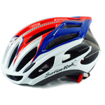 protection cycliste casque vélo ultraléger mixte bleu rouge blanc homme femme boutique start2train start-to-train