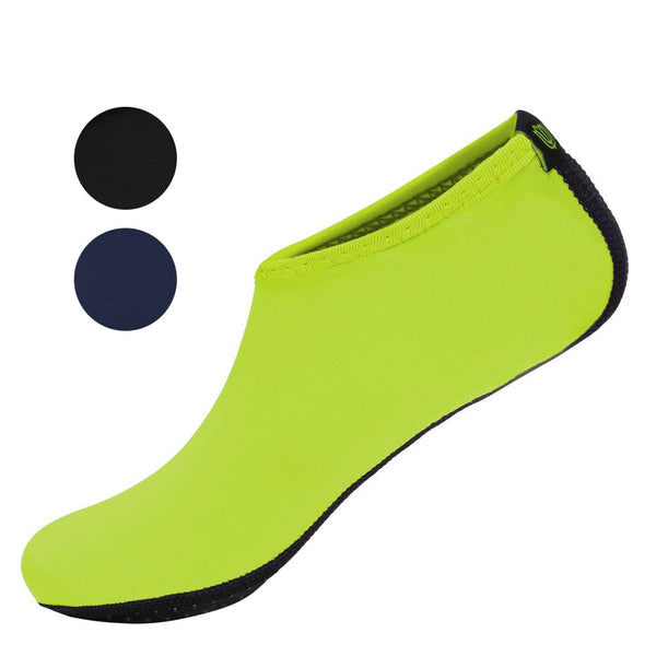 chaussure chausson jaune lime natation piscine aquagym aquafitness plage boutique store shop start2train start-to-train
