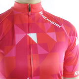 maillot cyclisme vélo femme photo poitrine couleur rouge rose boutique shop start-to-train