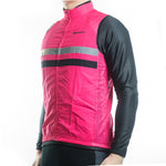 gilet coupe-vent cycliste original veste sans manche rose boutique tenues vélo cyclisme shop start-to-train pas cher