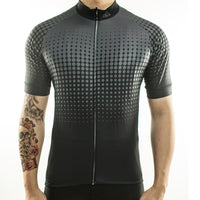 maillot cyclisme vélo face noir anthracite boutique eshop start-to-train