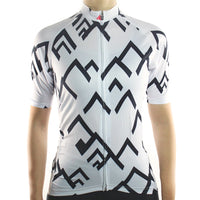 maillot cyclisme vélo femme blanc face boutique eshop start-to-train