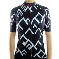 maillot cyclisme vélo femme noir face boutique eshop start-to-train