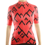 maillot cyclisme vélo femme rouge face boutique eshop start-to-train