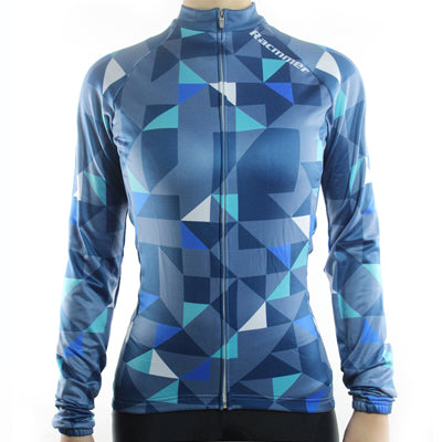 Maillot cyclisme longues manches femme