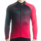 Maillot cyclisme manches longues homme