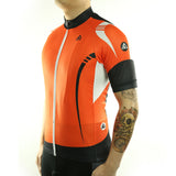 maillot vélo route orange tenue velo homme maillot été maillot manche courte VTT boutique start-to-train