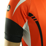 maillot vélo orange tenue velo homme maillot été maillot manche courte original boutique start-to-train