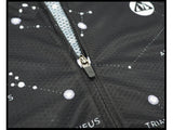 zip fermeture éclair tirette maillot manches courtes motif constellation boutique tenue vélo qualité www.start-to-train.com