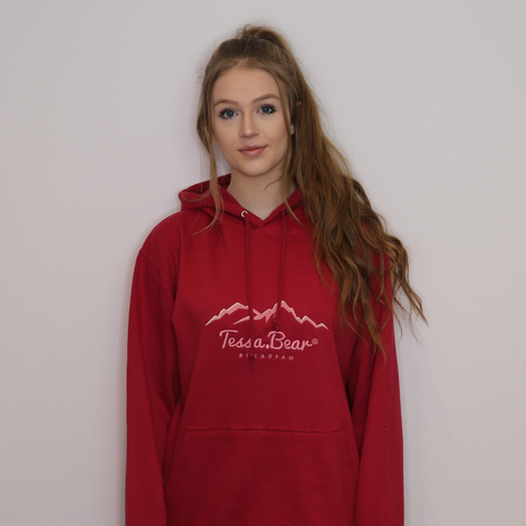CRANBERRY Hoodie with Embroidered Logo