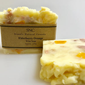 natural elderberry fruit wine soap made in canada