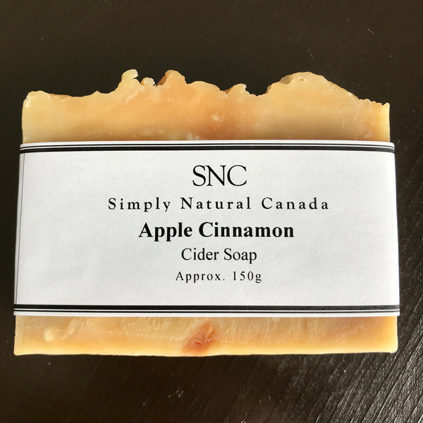artisan soap made with local canadian cider