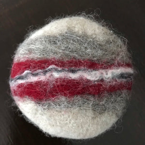 lavender chamomile felted sweater soap made in canada
