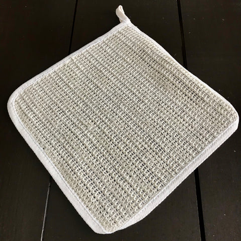 sisal cloth for exfoliating skin and washing dishes