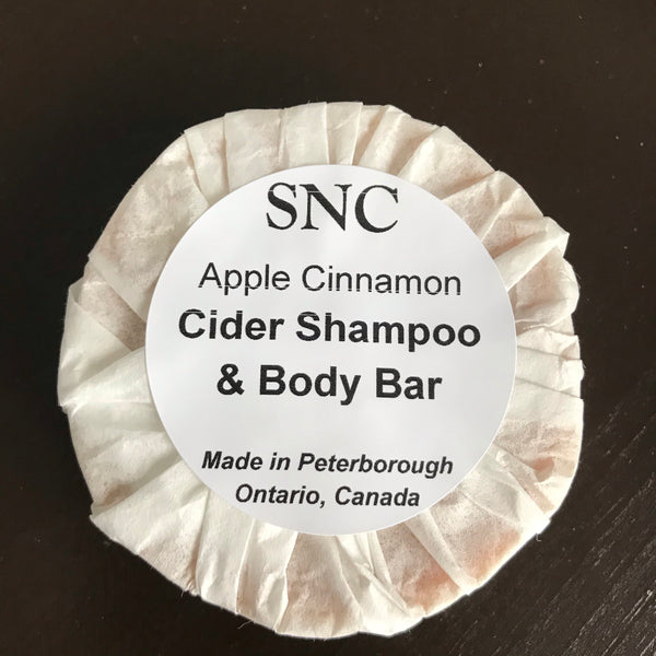 canadian made apple cider vinegar shampoo bar
